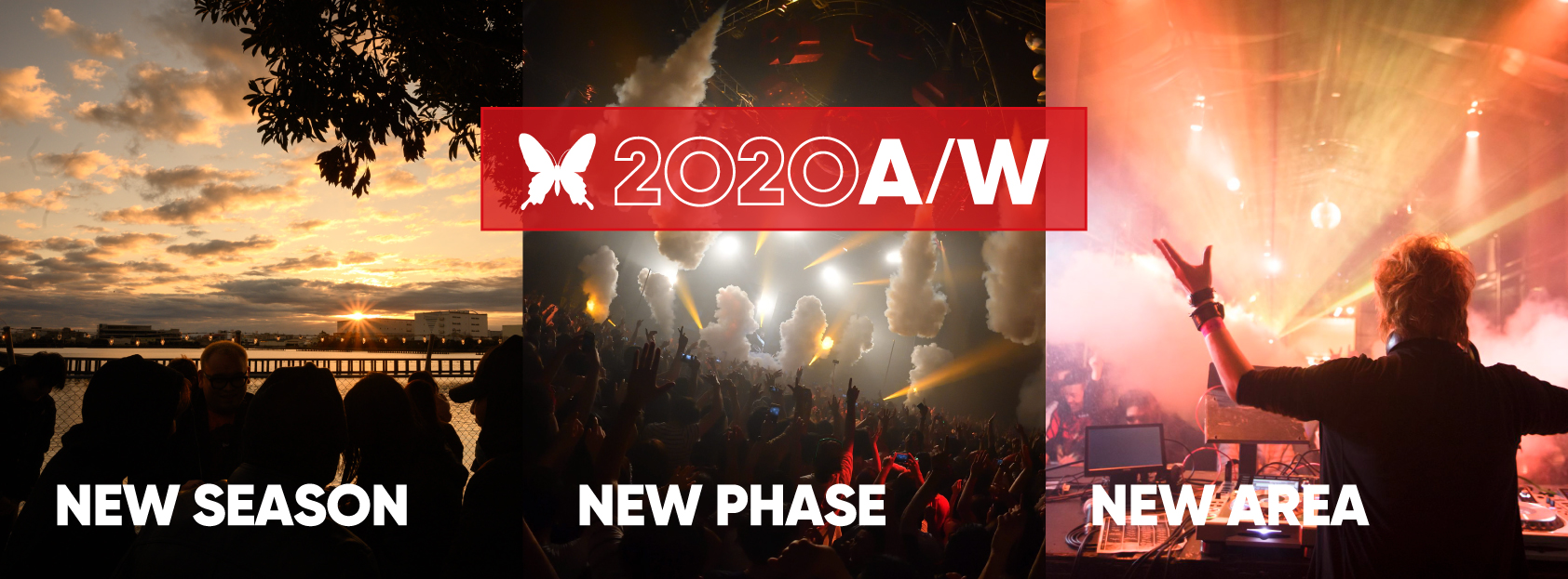 ageHa 2020 A/W「Diversity =多様性」「ARENA」を正式に再オープン!さらに屋外に新エリア「TENT」誕生!