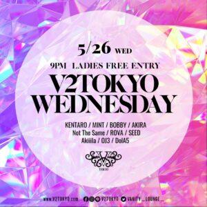 V2 TOKYO WEDNESDAY